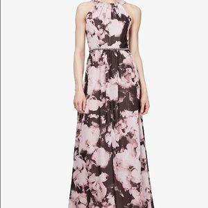 Dresses & Skirts - Floral beaded waist maxi